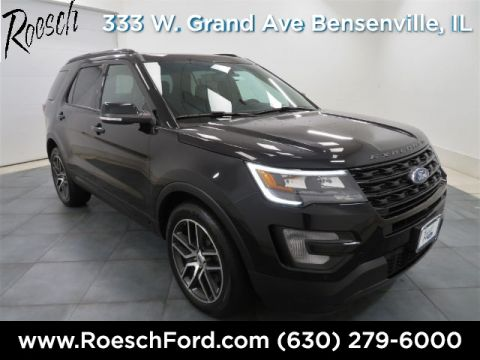 New 2017 Ford Explorer Sport AWD