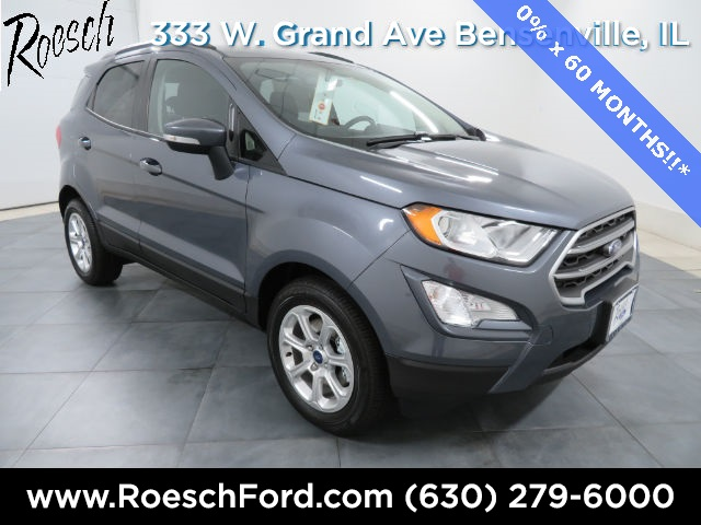 New 2018 Ford EcoSport SE With Navigation