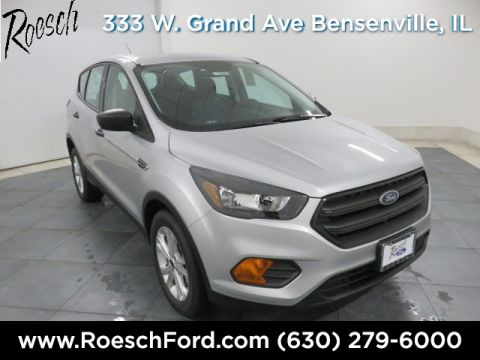 New 2018 Ford Escape S FWD 4D Sport Utility